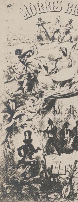 Detail, Morris Brothers, Pell & Trowbridge's Minstrels