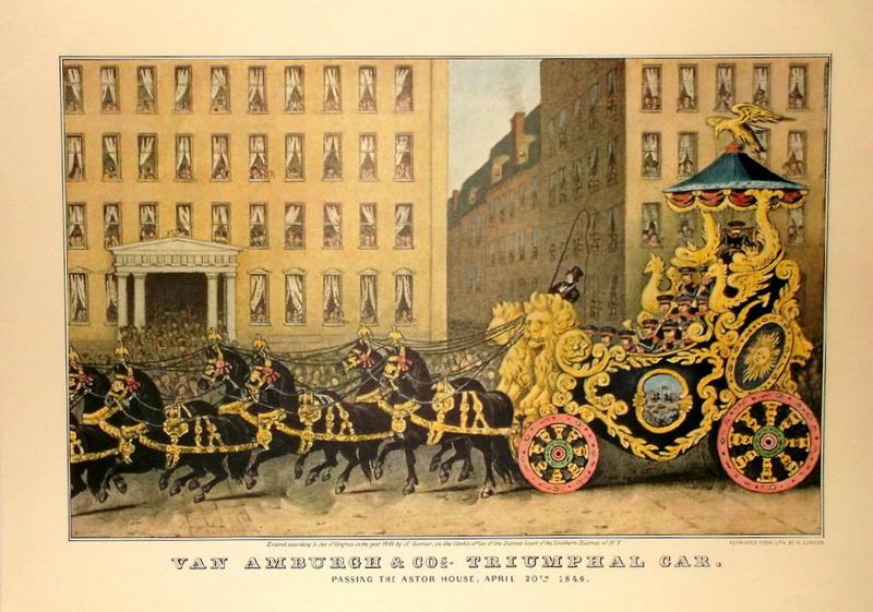 Van Amburgh's Triumphal Car